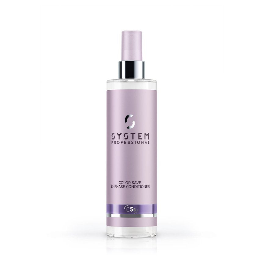 System Professional Color Save Bi-Phase Conditioner 185ml - Tratament Spray Pentru Protectia Culorii