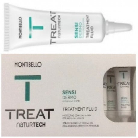 Montibello Treat Nt Sensi Dermo Fluid 10 X 12 ml - Tratament Fiole Pentru Scalp Sensibil