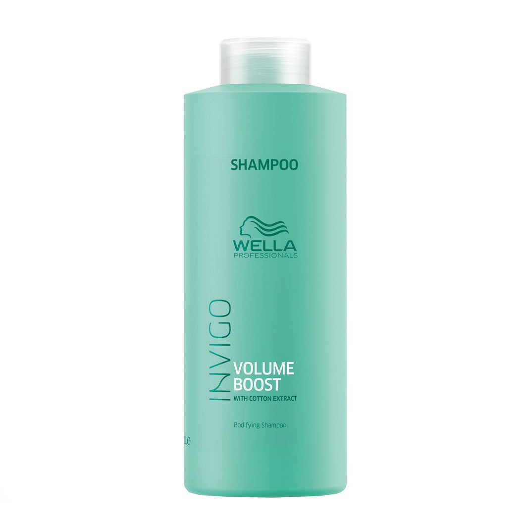 Wella Professional Invigo Volume Boost Sampon 1000ml - Sampon Pentru Volum