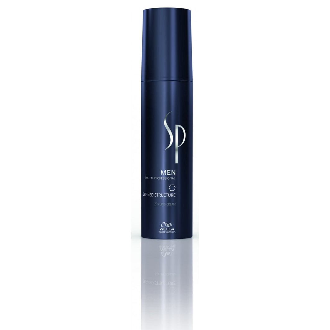 Wella SP MEN Defined Structure 100ml - Crema Modelatoare
