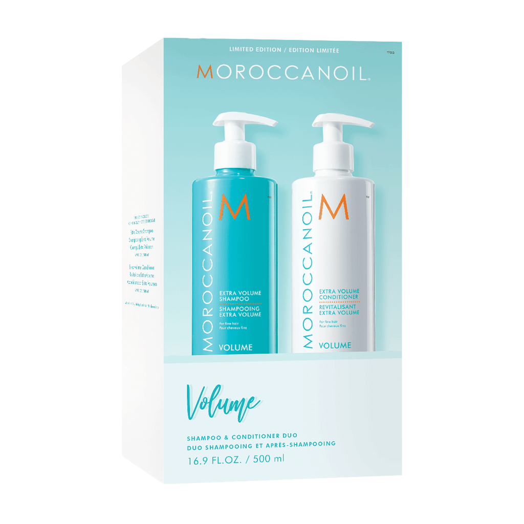 Volume Duo - Shampoing et Revitalisant Volume 500 ml de Moroccanoil
