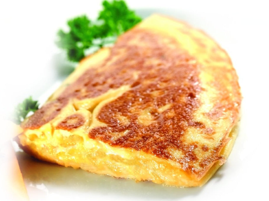 Omelette bacon et fromage
