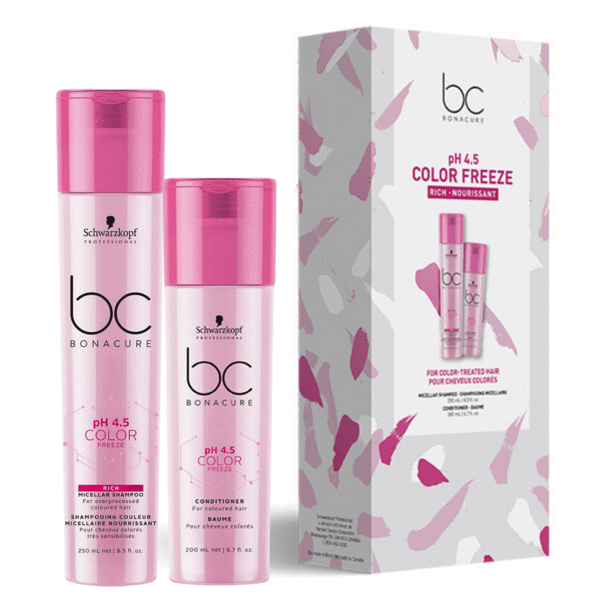Coffret DUO Color Freeze Rich Bonacure - Schwarzkopf