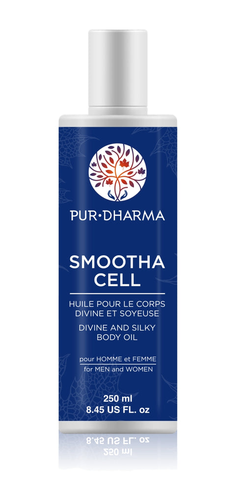 Smootha Cell Huile corps Divine et soyeuse 250ml - Pur Dharma
