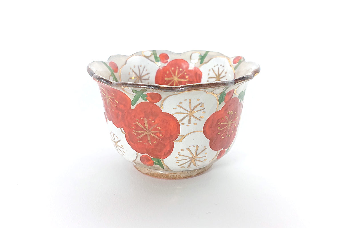 Iroe-Kenzan Plum small bowl