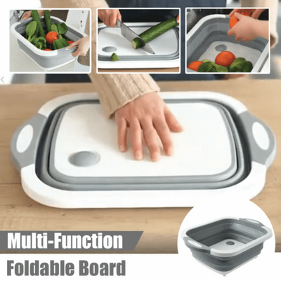 MULTOOL™ : Foldable Multi-Function Chopping Board