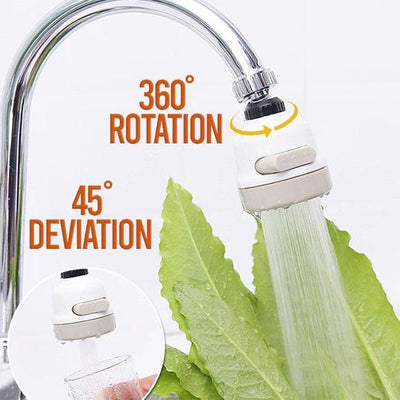 360° Rotary Home Faucet Booster Shower