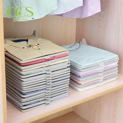 EFFORTLESS CLOSET ORGANIZER | 10 PCS
