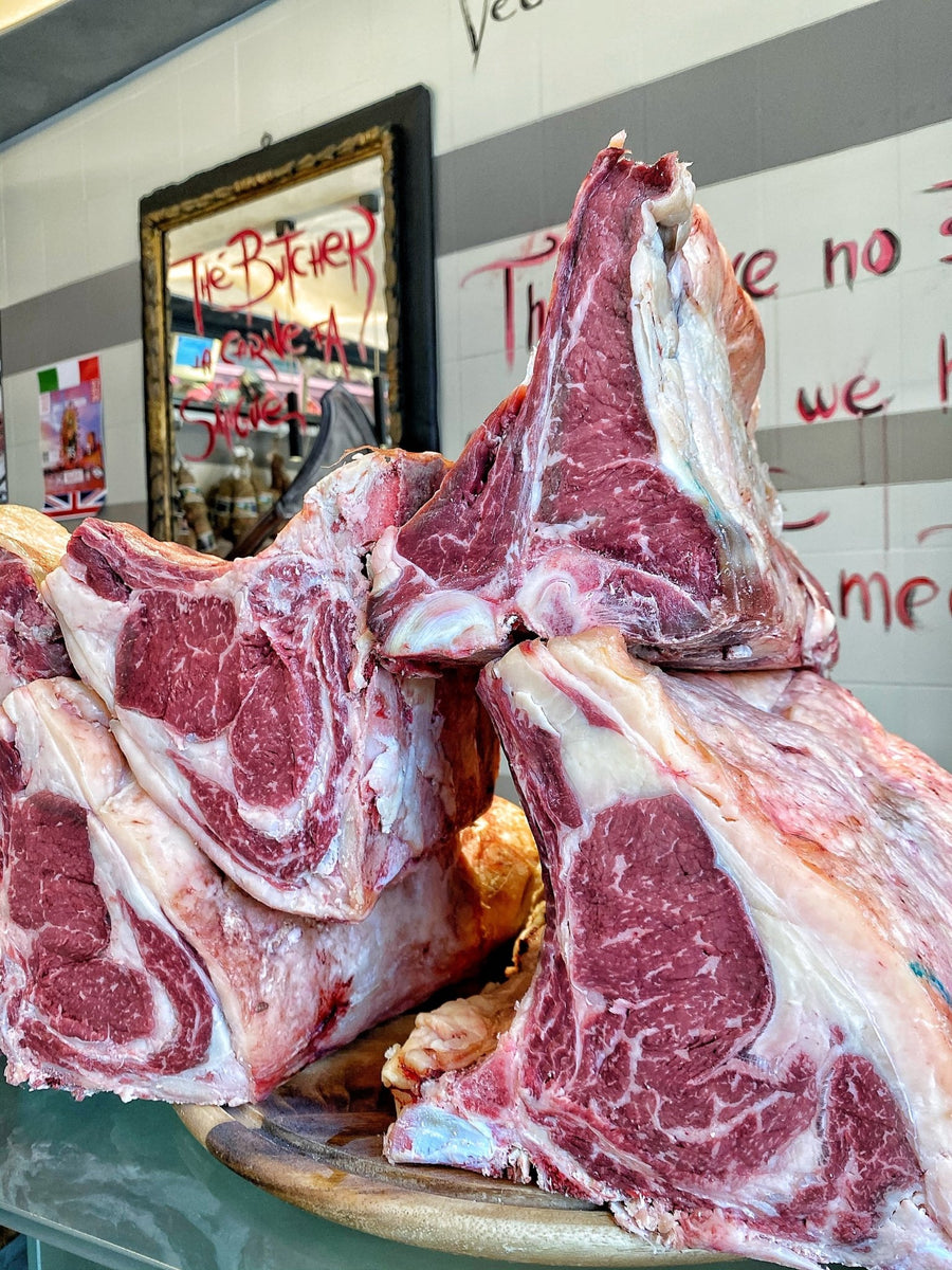 "Costata The Butcher Premium Beef ""Luxury Marbling"" 3+ 1 Kg - Macelleria Callegari - The Butcher La Carne Fa Sangue"
