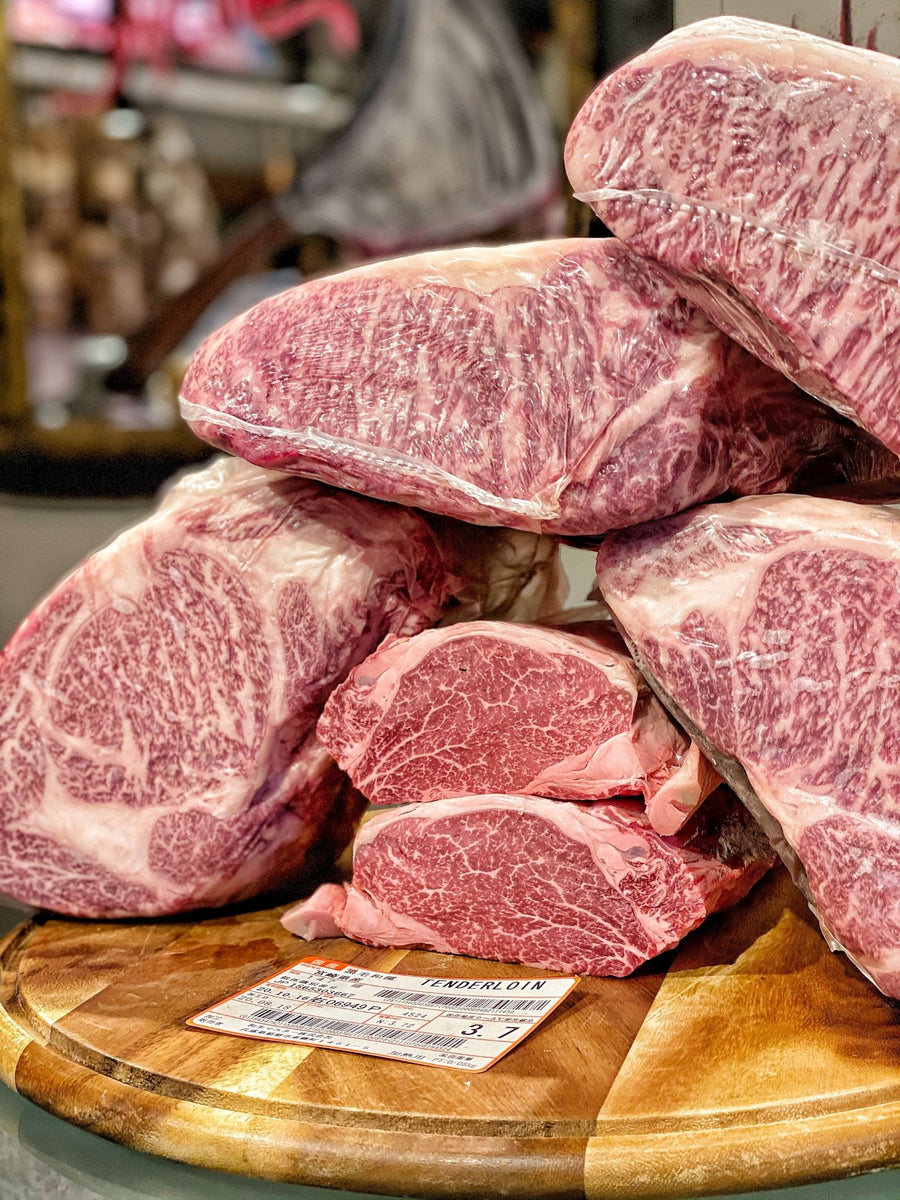 Filetto Wagyu Japan Miyazaki A5 - Macelleria Callegari - The Butcher La Carne Fa Sangue