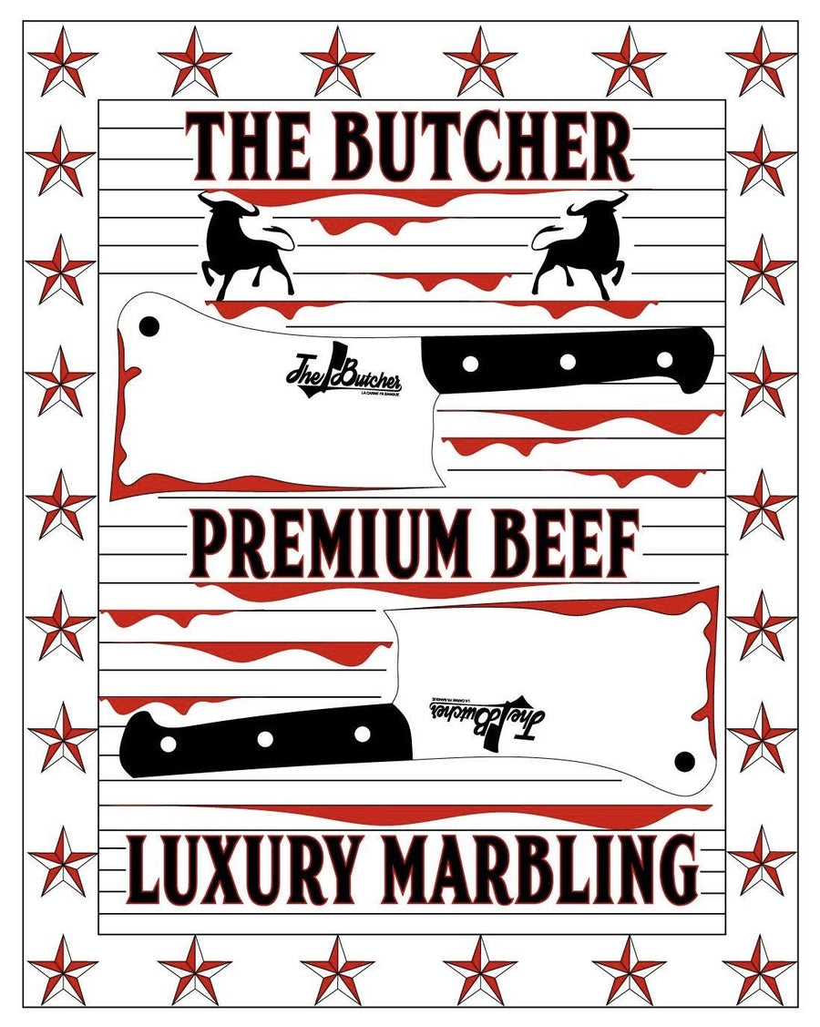 "Fiorentina The Butcher Premium Beef ""Luxury Marbling"" 3+ 1 Kg - Macelleria Callegari - The Butcher La Carne Fa Sangue"
