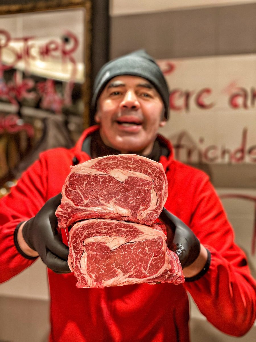 Ribeye Black Angus U.S.A. Creekstone Farms Prime 1 Kg - Macelleria Callegari - The Butcher La Carne Fa Sangue