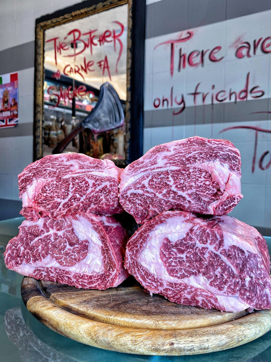 "Ribeye The Butcher Premium Beef ""Luxury Marbling"" 6+ - Macelleria Callegari - The Butcher La Carne Fa Sangue"