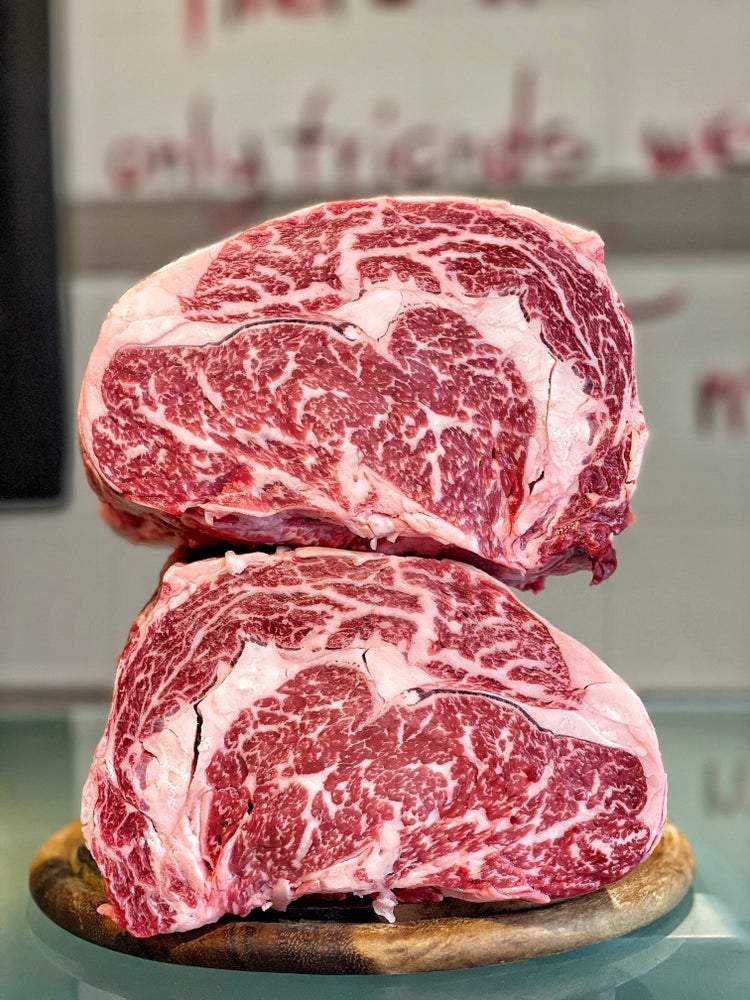 Ribeye Wagyu U.S.A. Snake River Farms 9+ Gold Label 1 Kg - Macelleria Callegari - The Butcher La Carne Fa Sangue