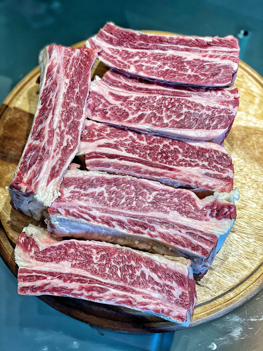 "Short Ribs Black Angus Australia Jack'S Creek ""Selezione Butcher"" - Macelleria Callegari - The Butcher La Carne Fa Sangue"