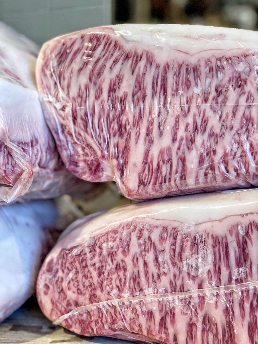 Striploin Wagyu Japan Kagoshima A5 - Macelleria Callegari - The Butcher La Carne Fa Sangue