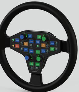 SWP-WRC3.1 CAN ratti paneli / Steering Wheel membrane panel
