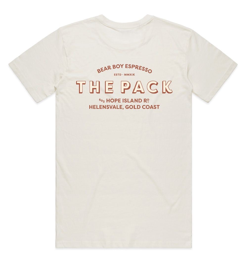The Pack Tee - White