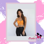 Barbie Spring Summer Sexy Backless Bralette  Sheer Lace Crop Tops