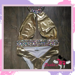 Barbie One Piece Bikini Crystal Diamond