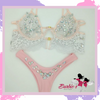 Barbie Two Piece Bikini Set Diamond Lace