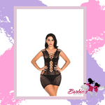 Barbie Sexy Costumes Womens Mesh Chemise Dress