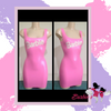 Barbie Printed Latex Dress