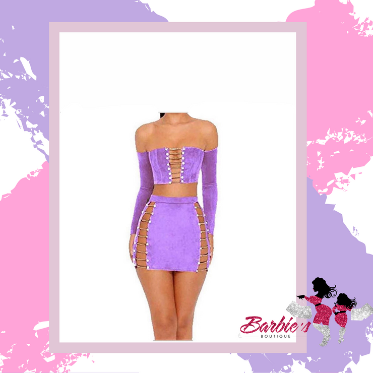 Barbie Purple Two Piece