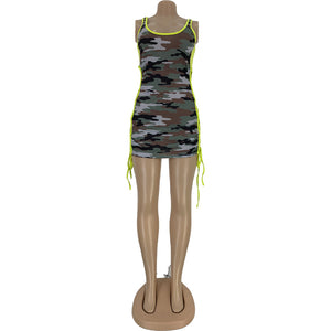 Barbie Camouflage Tank Top Dress