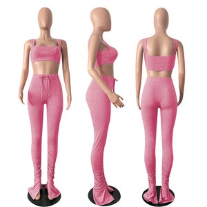 Barbie Fashion clothing stacked leggings 2 Pieces Set
