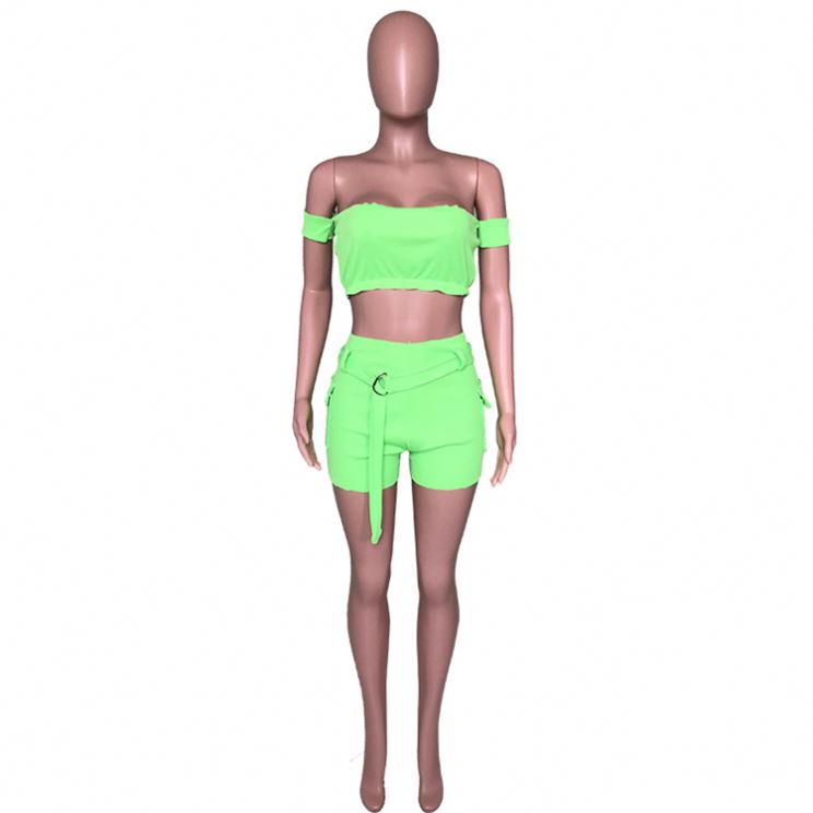 Barbie Two Piece Set Barbies Crop Top