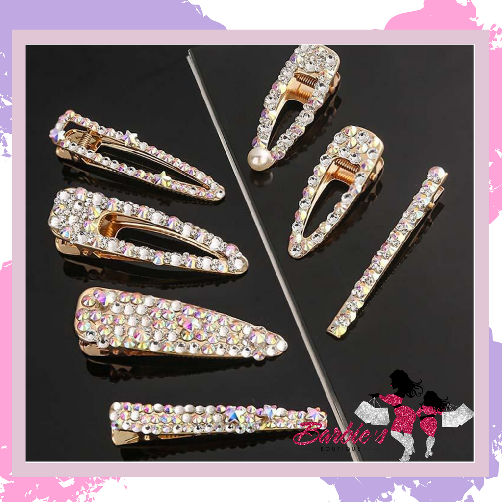 Barbie Luxury Diamond Hair Extensions Clips