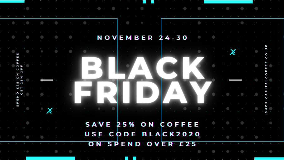 Black Friday Coffee Offer