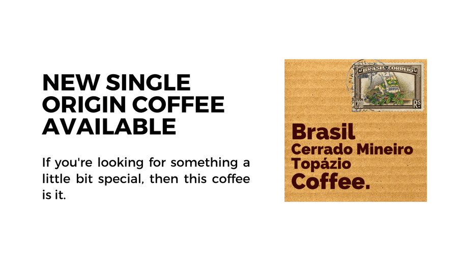Monthly Coffee Update: New Single Origin Speciality Coffee Available