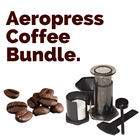 Aeropress and Coffee Deal