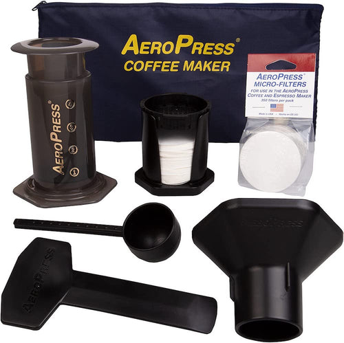 Aeropress Coffee Maker Tote Bag Bundle
