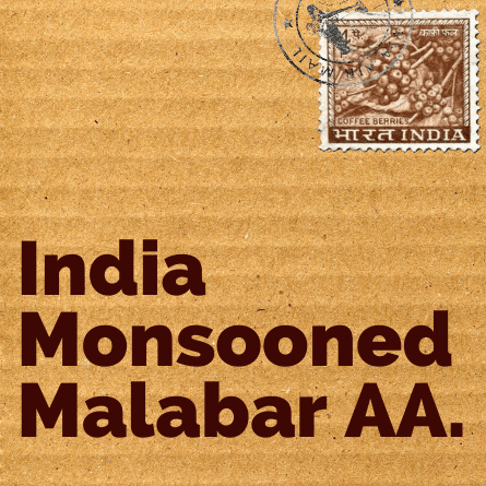 Indian Monsooned Coffee (Malabar AA)