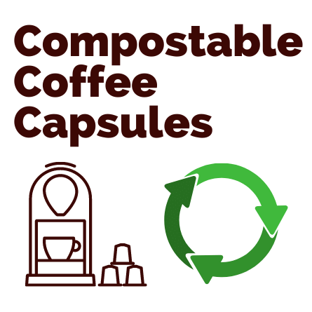 100% Compostable Coffee Capsules (Nespresso Compatible)