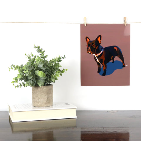 French Bulldog (4) Glossy Print - Miss Manda Pet Portraits