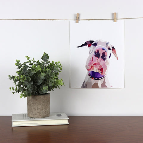 Great Dane Glossy Print - Miss Manda Pet Portraits
