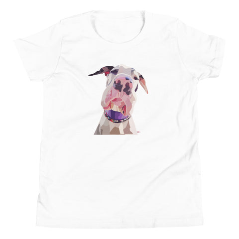 Great Dane Youth T-Shirt - Miss Manda Pet Portraits