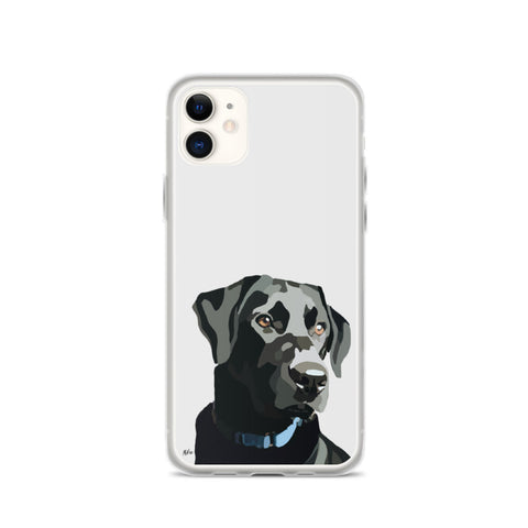 Black Lab iPhone Case – Standard - Miss Manda Pet Portraits