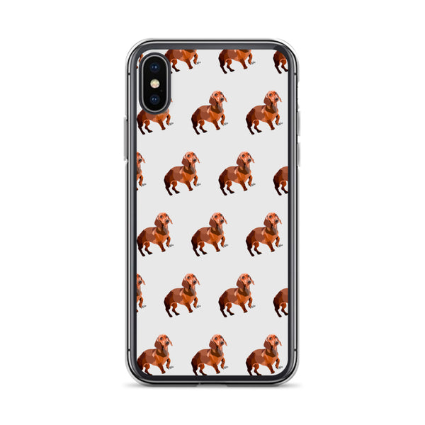 Dachshund iPhone Case – Pattern - Miss Manda Pet Portraits