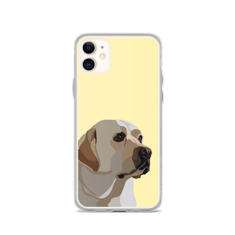 Yellow Lab iPhone Case – Standard - Miss Manda Pet Portraits