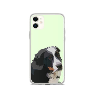 Bernese Mountain Dog iPhone Case – Standard - Miss Manda Pet Portraits