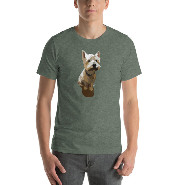 West Highland Terrier T-Shirt – Color Options - Miss Manda Pet Portraits