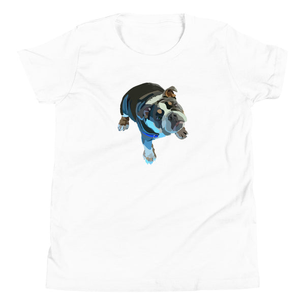 English Bulldog Youth T-Shirt - Miss Manda Pet Portraits