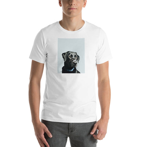 Black Lab T-Shirt – Portrait - Miss Manda Pet Portraits