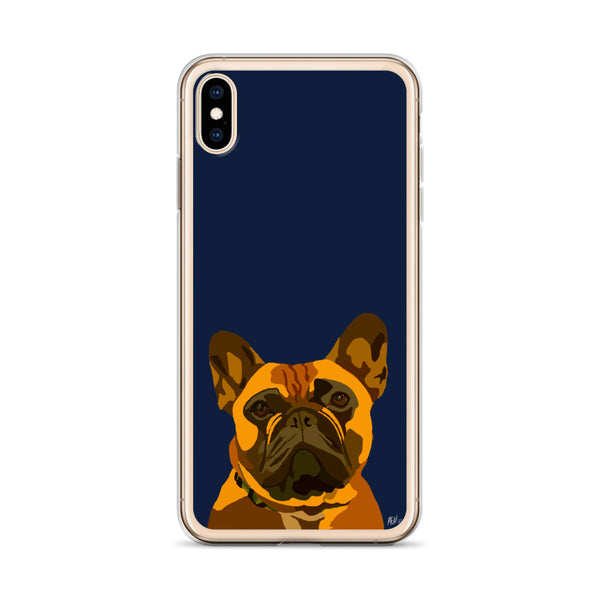 French Bulldog (Fawn) iPhone Case – Standard - Miss Manda Pet Portraits