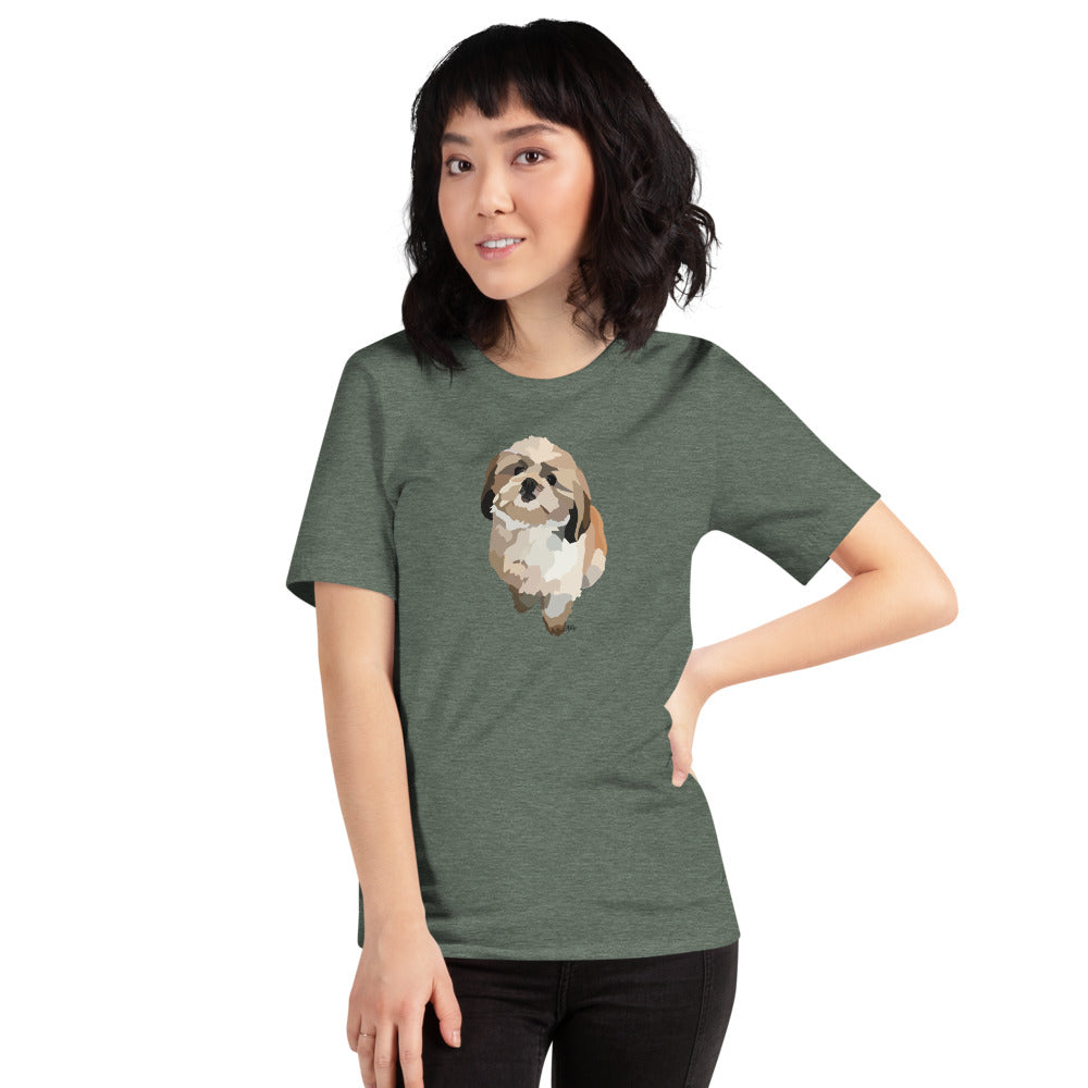 Shih Tzu T-Shirt – Color Options - Miss Manda Pet Portraits